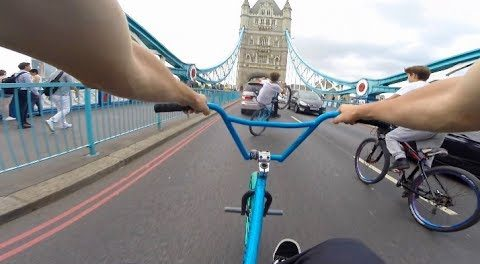 RIDING BMX IN LONDON!