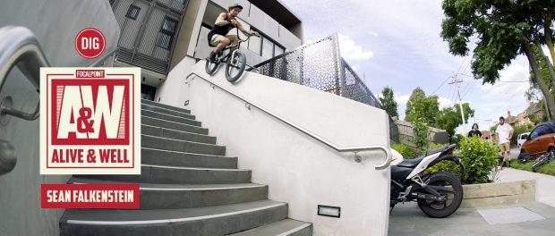 SEAN FALKENSTEIN / ALIVE & WELL DVD – FOCALPOINT BMX