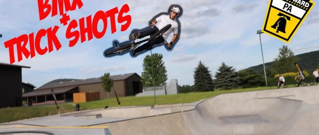 THE CREW RIDES WOODWARD AND SCOTTY DRAINS BASKETBALL TRICK SHOT!