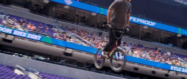X GAMES 2017 – KYLE BALDOCK'S BRONZE MEDAL WINNING BMX DIRT RUN
