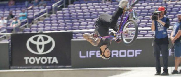 X GAMES 2017 – LOGAN MARTIN'S SILVER MEDAL WINNING BMX PARK RUN