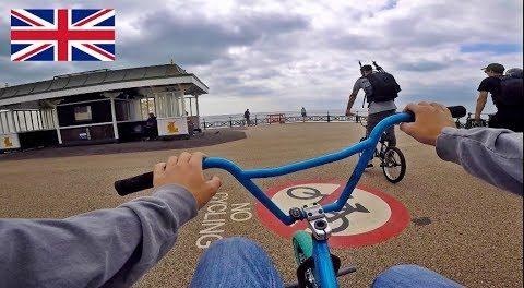 BMX ROAD TRIP IN ENGLAND!