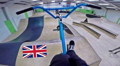 BOX JUMPS, FOAM PITS and DIRT BIKES (UK BMX Road Trip pt. 2)