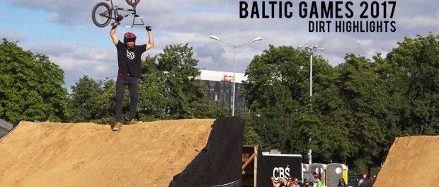 Dirt Finals at Baltic Games 2017