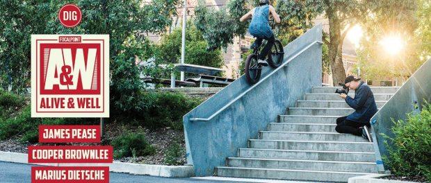 FOCALPOINT BMX – SPLIT SECTION – ALIVE & WELL DVD