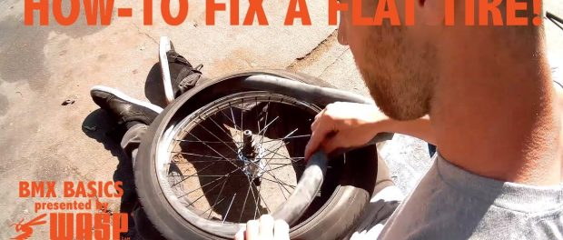 HOW TO FIX A FLAT TIRE QUICK AND EASY – BMX BASICS