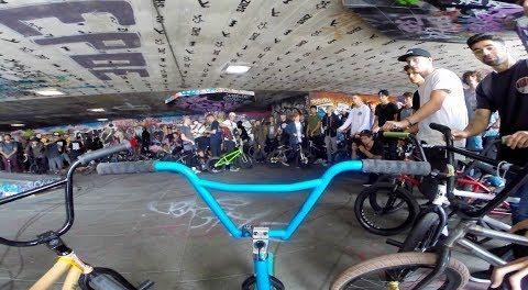 MASSIVE BMX JAM IN LONDON!