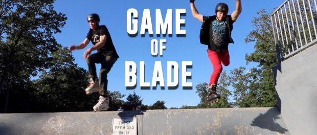 BIG BOY vs. EMO SKYLER ON ROLLERBLADES!