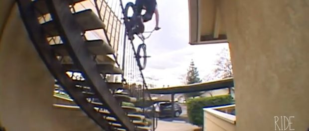 INSANE BMX ROOF RIDING IN FRESNO – REAGAN RILEY