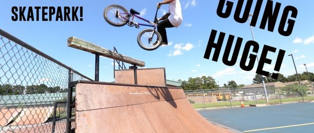 RIDING A WORLD FAMOUS SKATEPARK!