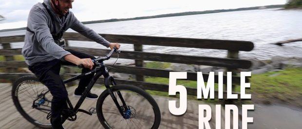 SCOTTY CRANMER AND THE 5 MILE BIKE RIDE CHALLENGE!