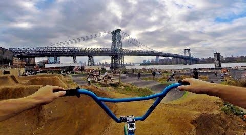 Amazing Dirt Jumps in NYC! (BMX)