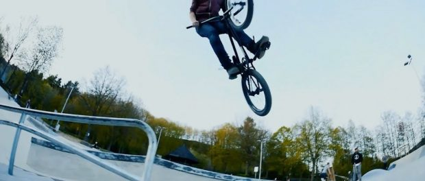 Awesome BMX Skatepark Session in Wiehl, Germany