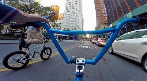 BMX Squad in Downtown NYC!