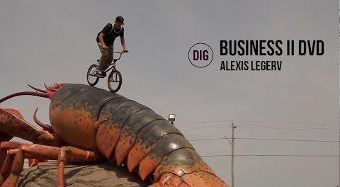 Business BMX II DVD – Alexis Leger Section