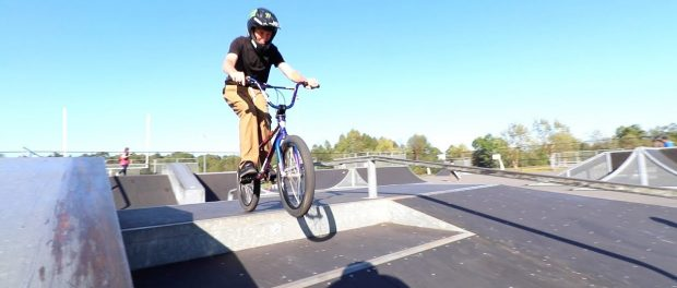 CLOSE CALL FOR SCOTTY AT THE SKATEPARK!