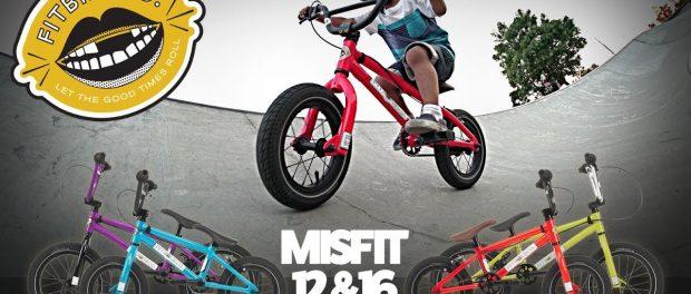 Fitbikeco. 2018 MISFIT 12 & 16 COMPLETE Bike