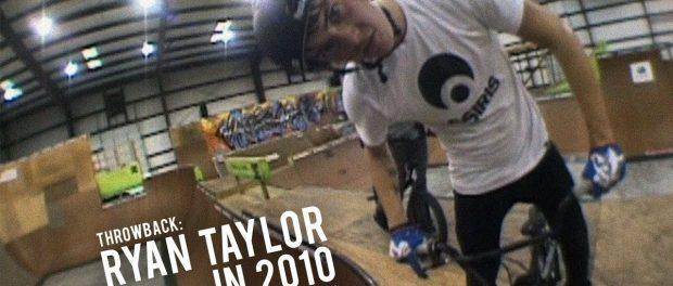 Ryan Taylor Riding Dave Mirra's Warehouse