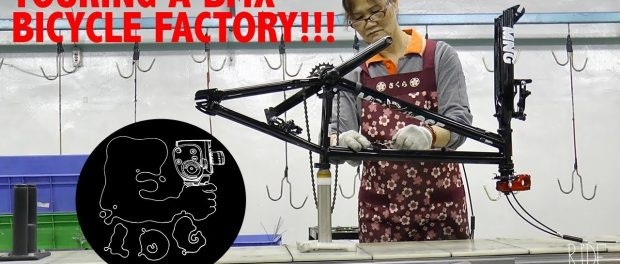 TOURING A BMX BICYCLE FACTORY IN TAIWAN W/ GT!! || E-LOG 011