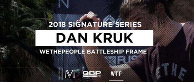 WETHEPEOPLE BMX 2018 Dan Kruk BATTLESHIP Frame #MANIFESTOWEEK