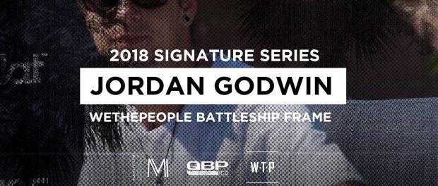 WETHEPEOPLE BMX 2018 Jordan Godwin BATTLESHIP Frame #MANIFESTOWEEK