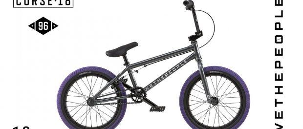 WETHEPEOPLE BMX Curse 18″ 2018 Complete Bike