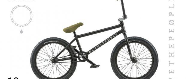 WETHEPEOPLE BMX Zodiac 2018 Complete Bike