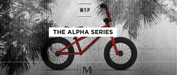 WETHEPEOPLE'S ALPHA SERIES 2018 COMPLETE BMX BIKES