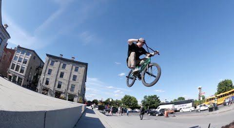 éclat BMX: Bruno Hoffmann Predator Tire Lost Promo