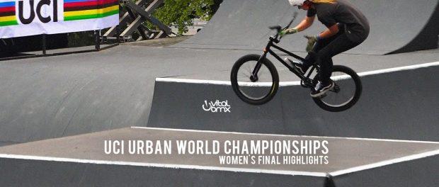Women's Highlights from UCI World Championships with Hannah Roberts, Lara Lessmann, Angie Marino