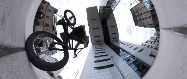BMX: Testing the craziest Fisheye Camera ever!?