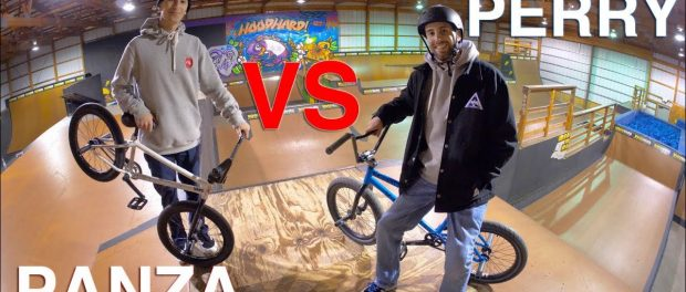 Game of BIKE: Billy Perry VS Anthony Panza (WOODWARD)
