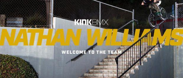 Nathan Williams On Kink BMX!