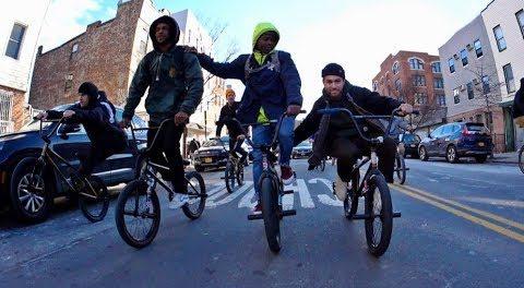 Big BMX Crew in Brooklyn! (FTL)