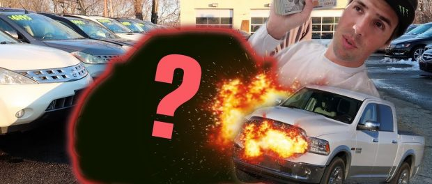 BUYING A CAR WITH A $3,000 BUDGET!