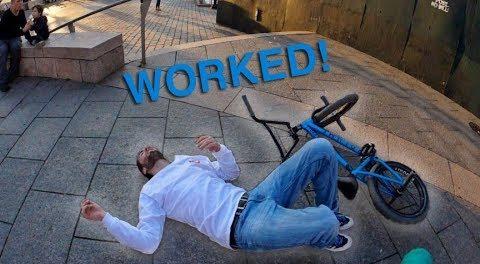 I Got DESTROYED by a Tailwhip (NYC BMX)