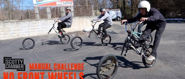 IMPOSSIBLE NO FRONT WHEEL CHALLENGE!
