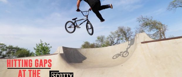 TAIL WHIP OVER THE CHANNEL GAP!