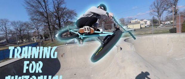 TRAINING FOR VANS PRO CUP!