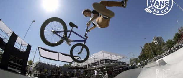VANS BMX PRO CUP CHILE – PRACTICE RAW CLIPS