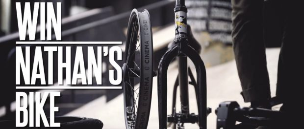 WIN NATHAN WILLIAMS'S FIRST KINK BMX