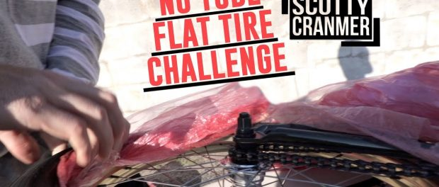 FLAT TIRE CHALLENGE! CAN YOU FIX IT?