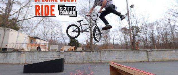 RIDING BMX FOR A SPECIAL GUEST!