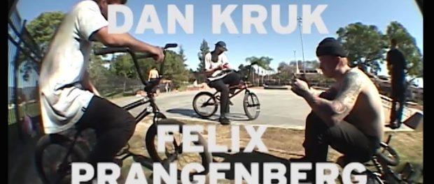 WETHEPEOPLE BMX: Dan Kruk & Felix Prangenberg – Cheeky VX