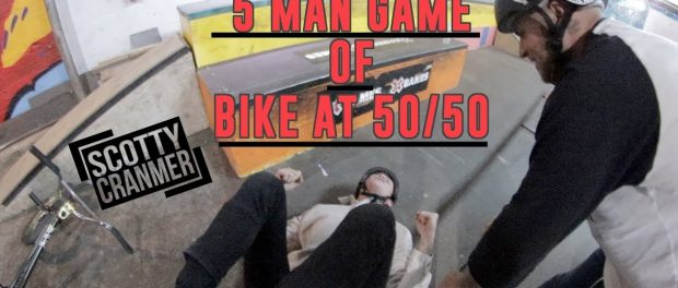 REALLY BAD SPINAL DURING GAME OF BIKE!