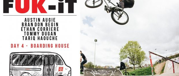 Fitbikeco. FUK-IT Tour Day 4 – The Boarding House