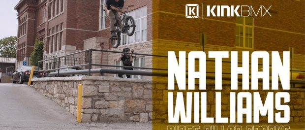 Nathan Willams On The Kink Pillar Cranks! – Kink BMX