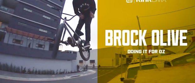 Mind Blowing Brock Olive Web Part!  – Kink BMX