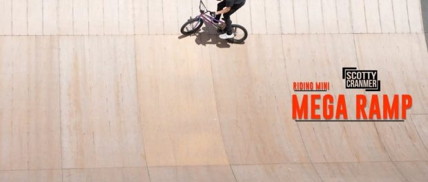 RIDING THE BIGGEST RAMP SINCE MY ACCIDENT!