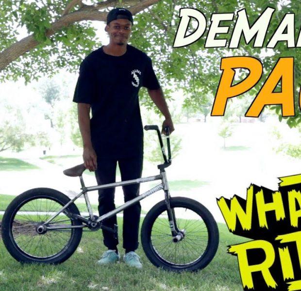 DEMARCUS PAUL – WHAT I RIDE (BMX BIKE CHECK)